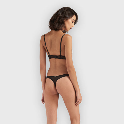 Orita Harness Thong Black