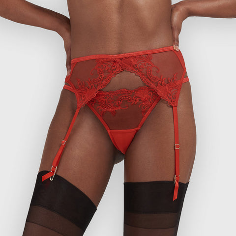 Marseille Suspender Red