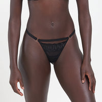 Juliette Thong Black