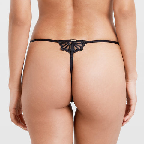 Caramella Thong Black