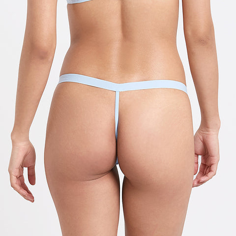 Lilia Thong Powder Blue