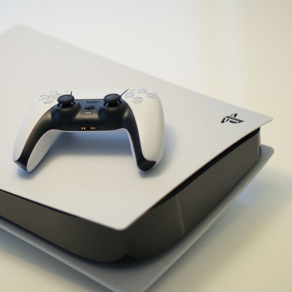 A White PlayStation 5 (PS5)