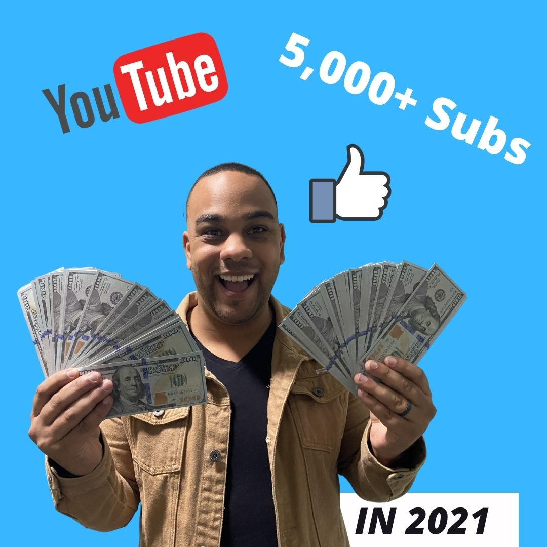 Welcome to your journey from 0-to-5,000 YouTube subscribers in 2021!