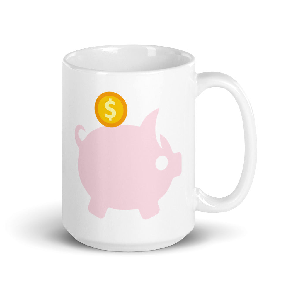 Piggy Banker Mug - Millennial Investments