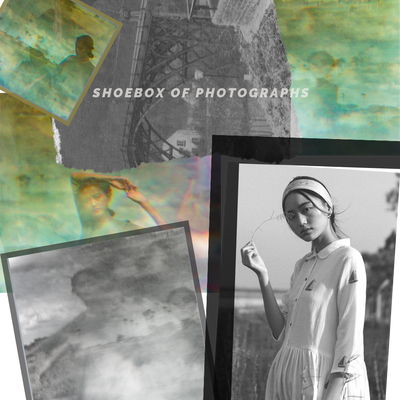 Shoebox of photographs