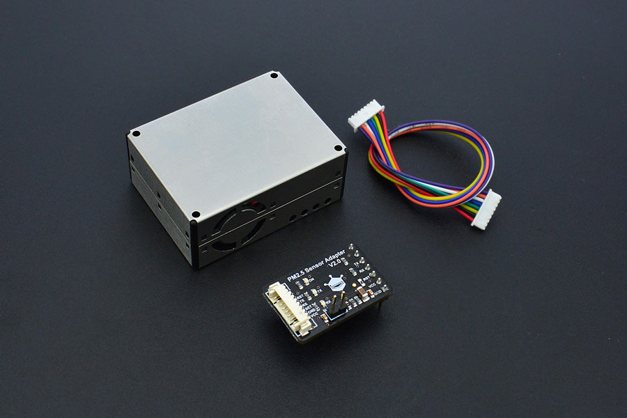 Air Quality Monitor (PM 2.5, Formaldehyde, Temperature & Humidity Sensor) SEN0233