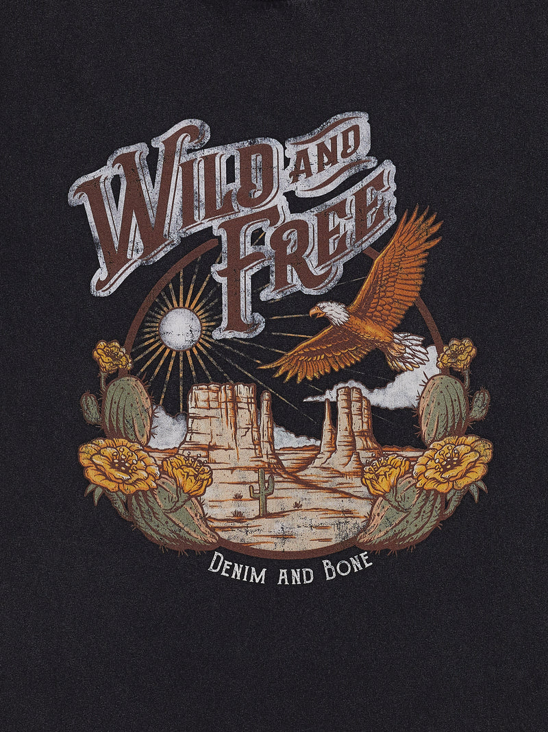 Wild and Free Printed Tee