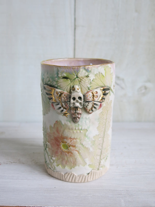 Heavenly Moth Candle - 2 wick