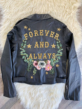 Customisable Vegan Biker Jacket