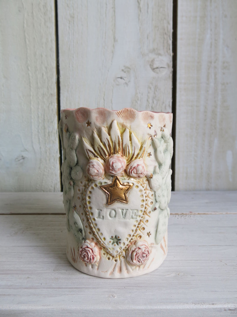Fire In My Heart Prayer Style Candle