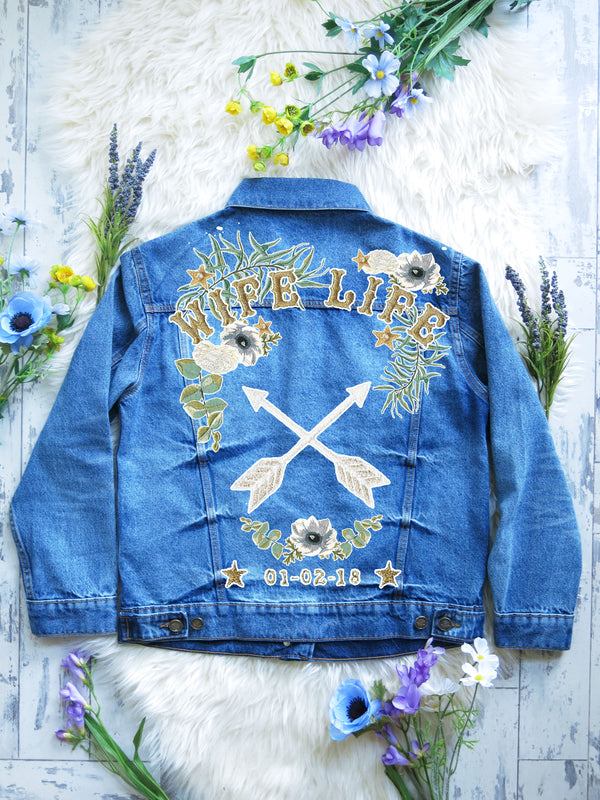 Customisable Denim Bridal Jacket