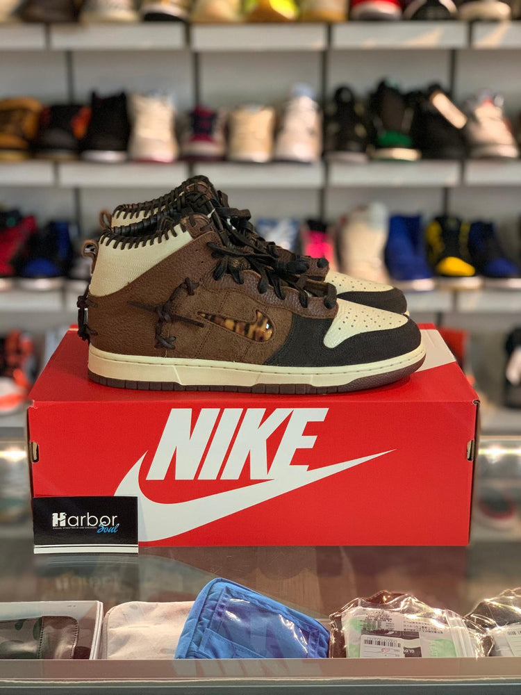 Nike Dunk High x Bodega Fauna Brown 10.5