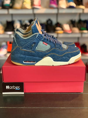 Load image into Gallery viewer, Jordan 4 Retro x Levi's Denim (Tag with Levi's logo) 10.5M