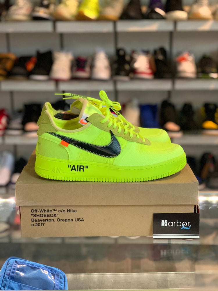 Nike Air Force 1 Low OFF-White Volt 10.5M