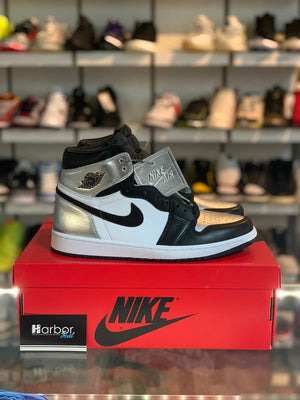 Load image into Gallery viewer, WMNS Jordan 1 High Silver Toe 7W