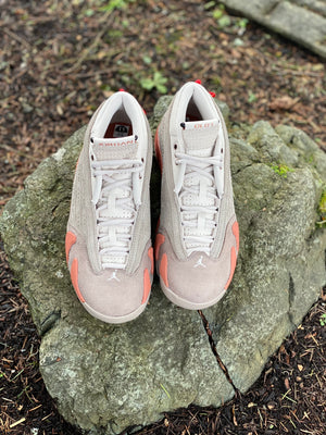 Load image into Gallery viewer, Air Jordan 14 x CLOT Terracotta