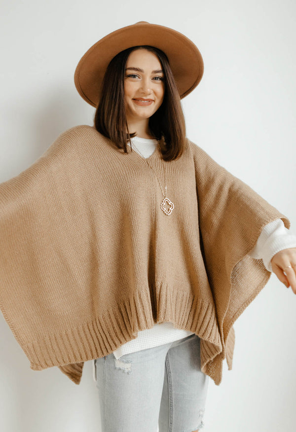 Autumn Leaves Poncho