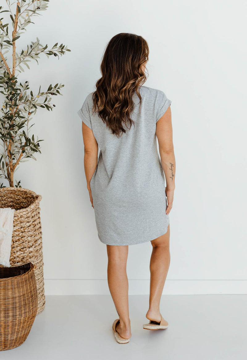 Simply Stated T-Shirt Dress