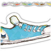 Pete the Cat® Groovy Shoes Die-Cut Border Trim