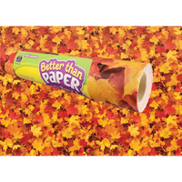 Fall Leaves Better Than Paper® Bulletin Board Roll