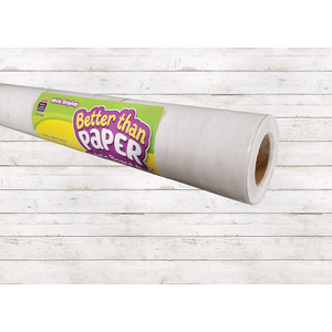 White Shiplap Better Than Paper® Bulletin Board Roll
