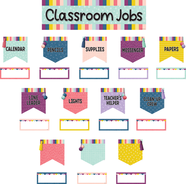 Oh Happy Day Classroom Jobs Mini Bulletin Board