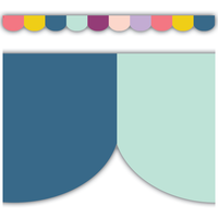Oh Happy Day Scalloped Die-Cut Border Trim
