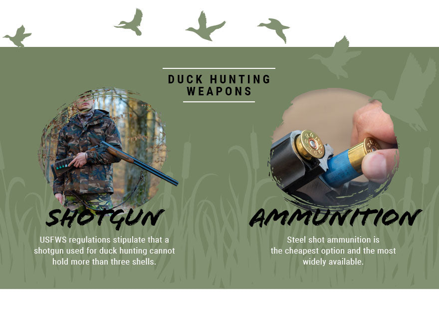 duck hunting weapons