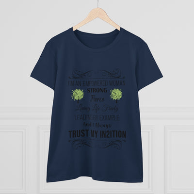 I'A An Empowered Women's Heavy Cotton Tee