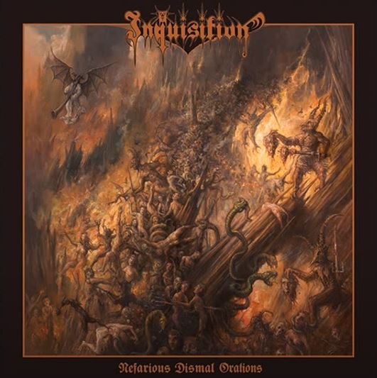 INQUISITION: Nefarious Dismal Orations (CD)