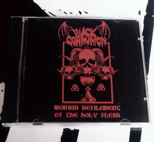 Cargar imagen en el visor de la galería, BLACK COMMUNION: Morbid Defilement of the Holy Flesh (CD)