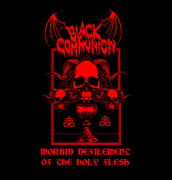 BLACK COMMUNION: Morbid Defilement of the Holy Flesh (CD)