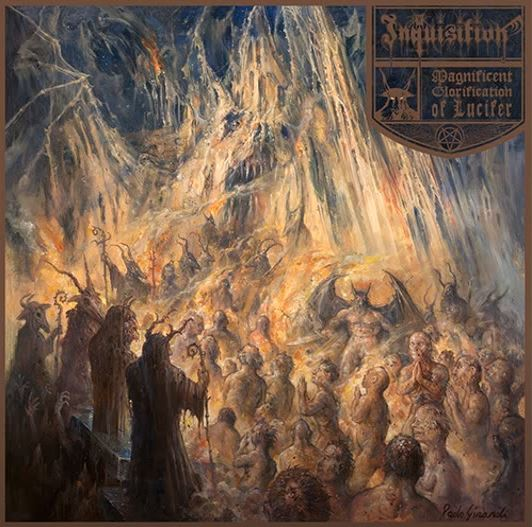 INQUISITION: Magnificent Glorification of Lucifer (CD)