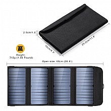28W QC3.0 Portable Solar Charger