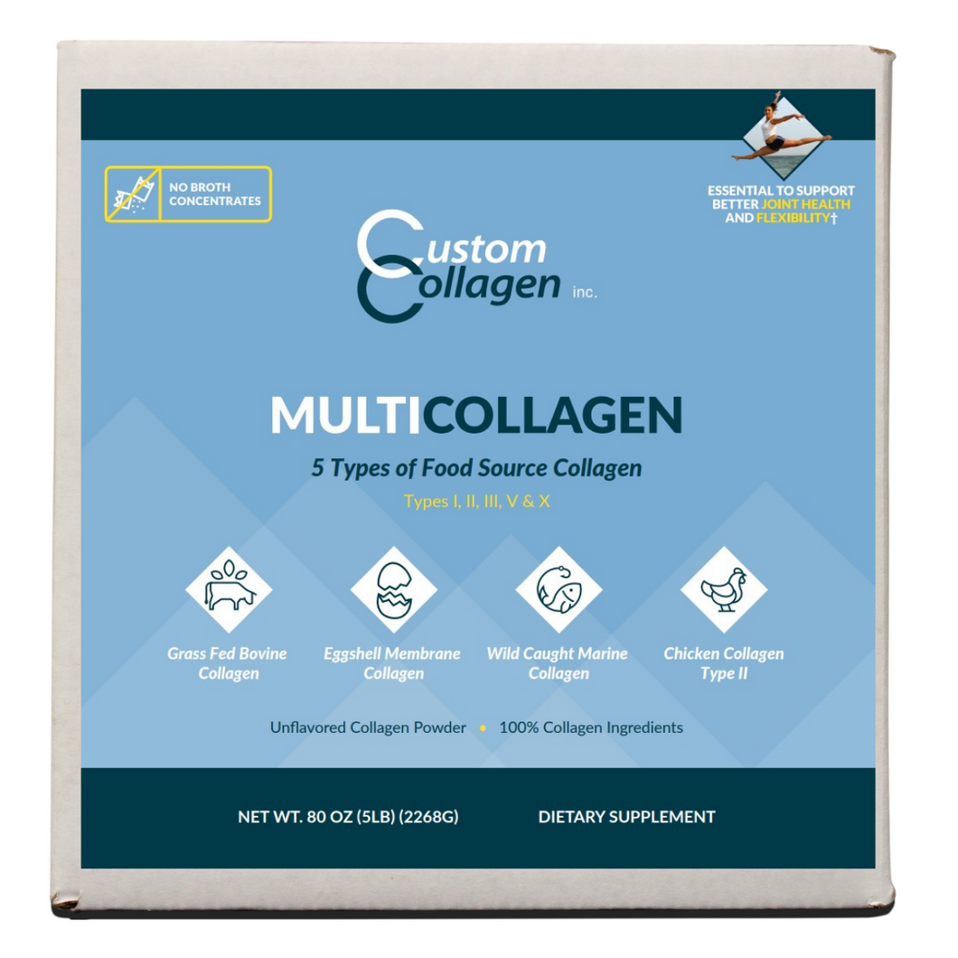 Multi Collagen Peptides 5lbs