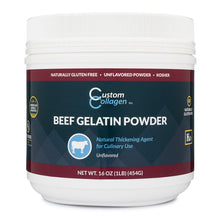 Load image into Gallery viewer, Beef Gelatin 1lb