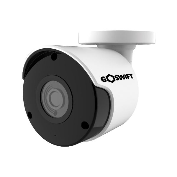 GoSwift 2MP HD Weatherproof IP Bullet Security Camera, 2MP 1920x1080, 100' Night Vision, 2.8mm Wide Angle Lens, POE, Onvif