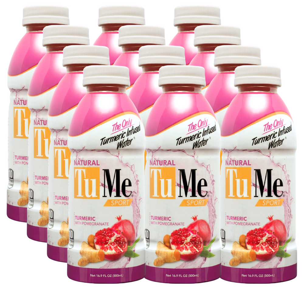 Load image into Gallery viewer, TuMe Turmeric Water +Pomegranate