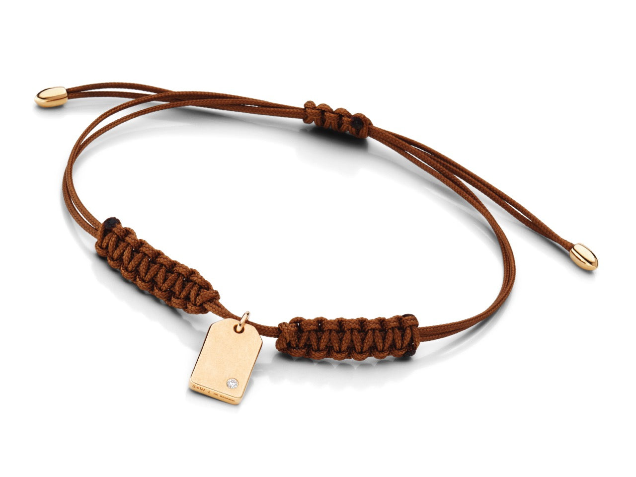 Armband SCHMUCK-WERK 'tag mini' Rotgold
