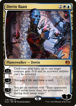 Dovin Baan [Kaladesh] | Most Excellent Gaming