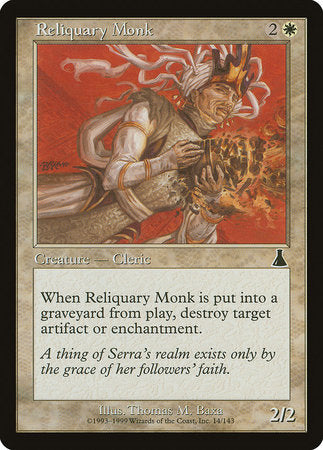 Reliquary Monk [Urza's Destiny] | Most Excellent Gaming