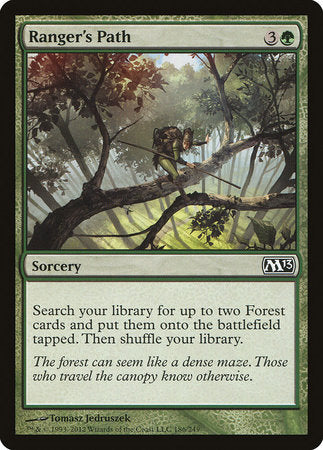 Ranger's Path [Magic 2013] | Most Excellent Gaming