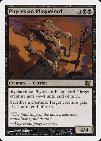 Phyrexian Plaguelord [Eighth Edition] | Most Excellent Gaming
