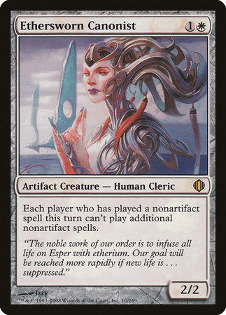 Ethersworn Canonist [Shards of Alara]