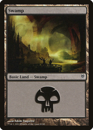 Swamp (81) [Duel Decks: Jace vs. Vraska] | Most Excellent Gaming
