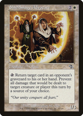 Shieldmage Advocate [Judgment]