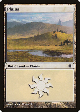 Plains (231) [Shards of Alara] | Most Excellent Gaming
