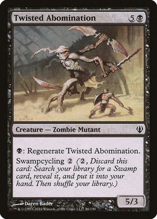 Twisted Abomination [Archenemy]