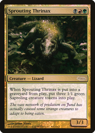 Sprouting Thrinax [Wizards Play Network 2008]