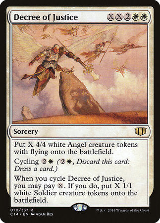 Decree of Justice [Commander 2014] | Most Excellent Gaming